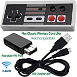 2 Pack Rechargeable NES Classic Mini Wireless