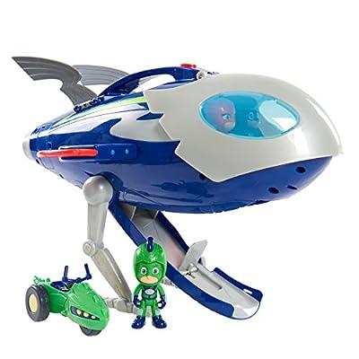 PJ Masks Super Moon Adventure HQ Rocket: Toys & Games
