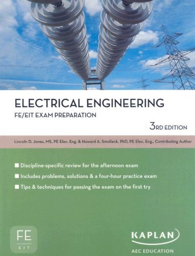 Electrical Engineering FE/EIT Exam Prep (Fe/Eit Exam Preparation)