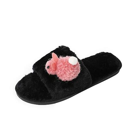 ABsoar Slipper - Mocasines para mujer rosa Rosa 36