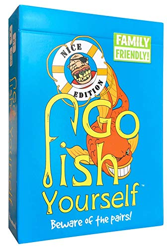 Yourself Card - Go Fish Yourself - Family Edition