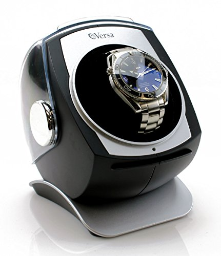 [Newly Upgraded] Versa Automatic Single Watch Winder with Sliding Cover -