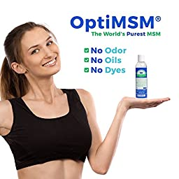 Purified OptiMSM in Odor-Free Quick Absorbing Gel (16 oz)
