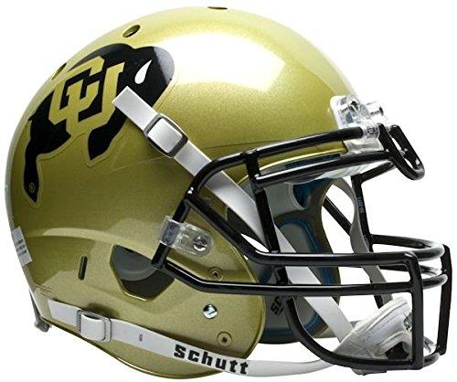 NCAA Colorado Buffaloes Authentic XP Football Helmet by Schutt