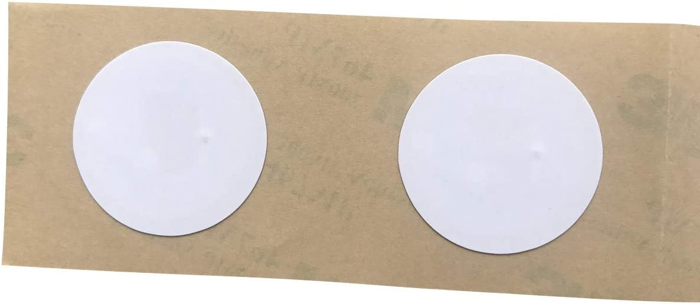 20 Pi/èces NFC Sticker Id/éal pour Appareils Coordonn/ées YARONGTECH NFC Tag NXP NTAG215 Compatible avec Amiibo et TagMo 25mm diam/ètre,504 Octets M/émoire