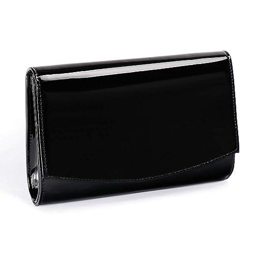 bf14e70de49 Women Patent Leather Wallets Fashion Clutch Purses