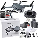 DJI Mavic Pro Collapsible Quadcopter + DJI Goggles Virtual Reality VR FPV POV (Racing Edition) Experience Ultimate Bundle