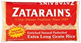 Zatarain's Long Grain Parboiled White Rice 2 Lb Bag