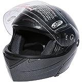 XFMT Dot Carbon Fiber Flip Up Modular Full Face Street Helmet Motorcycle Street Sport Helmet S