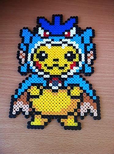 Pikachu Costume Leviathor Pixel Art Perler Beads Perla
