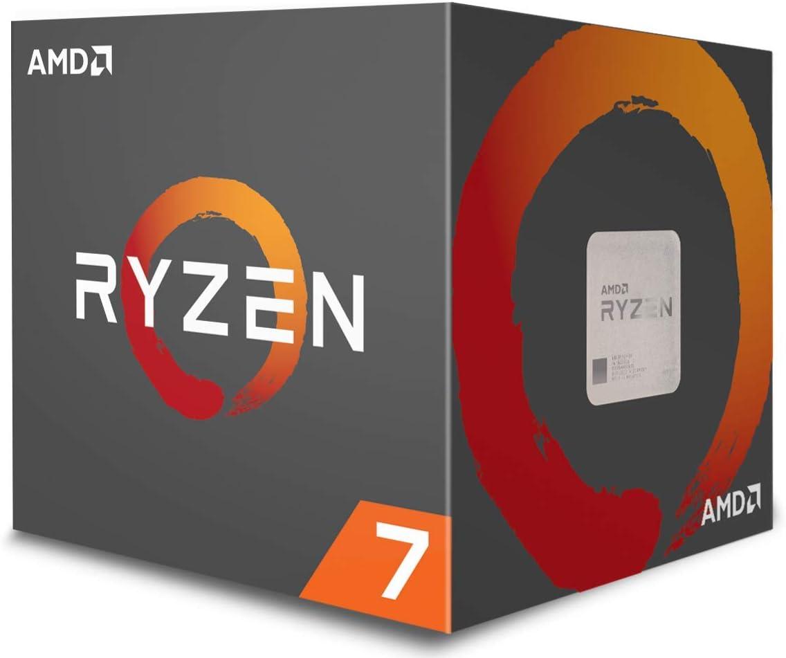 AMD RYZEN 7 1700- Procesador de 3.7 GHz, Socket AM4 con ventilador ...