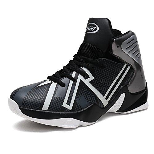 Elaphurus 2017 Scarpe da Basket Uomo Sportive Outdoor Sneakers nero