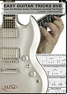 EASY GUITAR TRICKS DVD: Lead And Rhythm Guitar Techniques Used By The Pros!