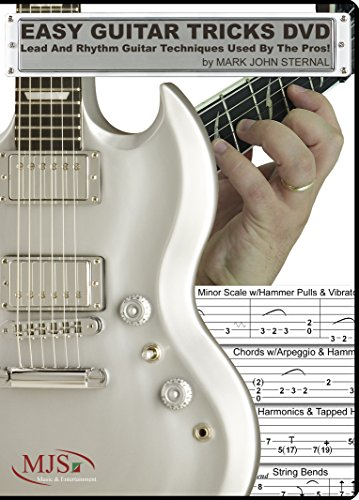 EASY GUITAR TRICKS DVD: Lead And Rhythm Guitar Techniques Used