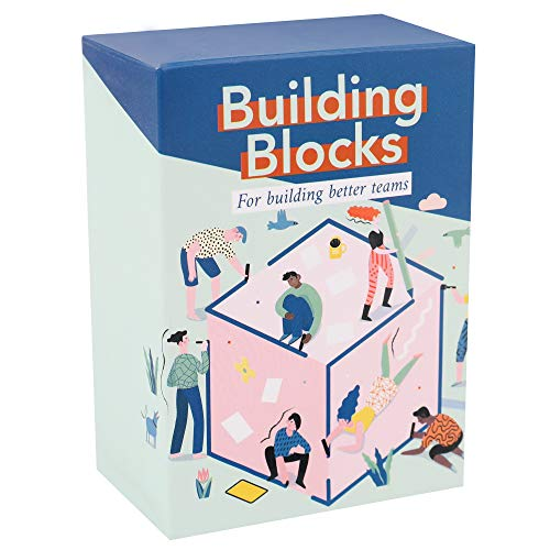 Building Blocks : Team Building Card Game for Work - Conversation Starters & Ice Breakers to Get to Know Your Coworkers - Office Activities & Training Tool (Best Ice Breaker Games For Adults)