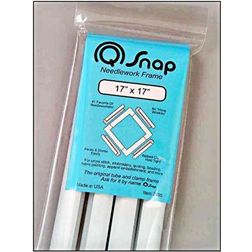 Q-Snap Frame Quilting Embroidery Cross Stitch 17 x 17 by Q-Snap