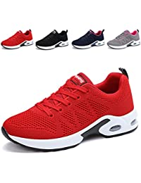 Women's Breathable Fashion Walking Sneakers Lightweight Athletic Tennis Running Shoes US5.5-10