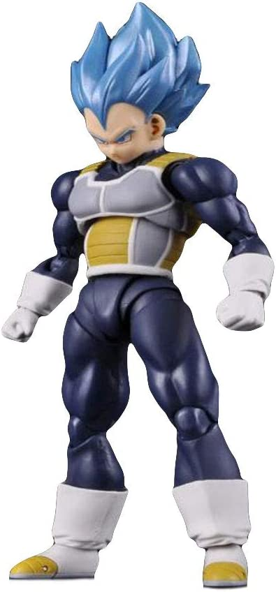 YXB Anime Character Super Saiyan Super Blue Vegeta Action Figure Applicable Decoration Collection Play