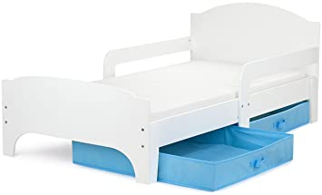 Moderne Smart Lit d\'Enfant Toddler 140x70 Couleur Blanche ...
