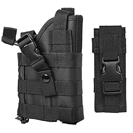 Amazon com : M1SURPLUS MOLLE Style Tactical Black Pistol