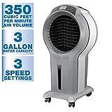Arctic Cove EVC350 350 CFM 3 Speed Portable Evaporative Cooler for 175 sq. ft.