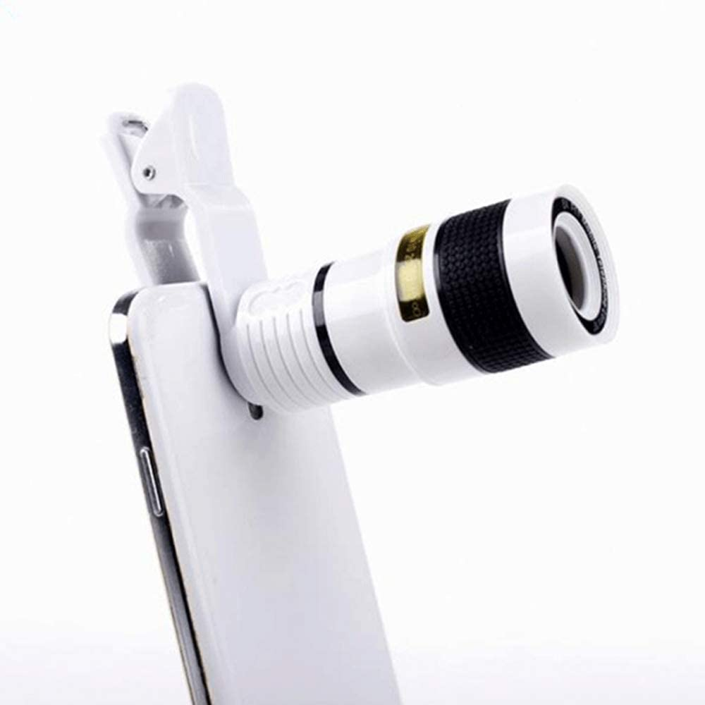 FUNXS Telephoto Phone Lens 12x Optical Telescope Lens para iPhone ...