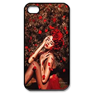 Red Rose And Love Protective Case 273 For Iphone 4 4S case cover At ERZHOU Tech Store