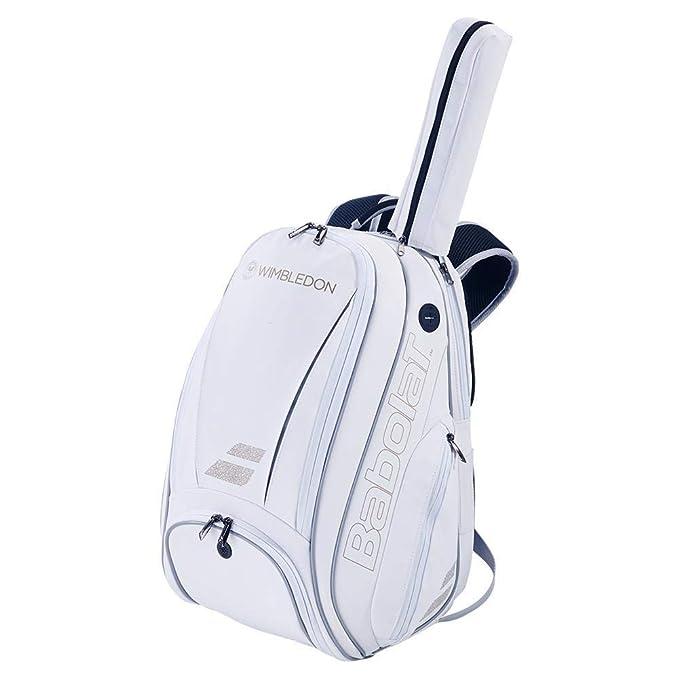 Babolat Mochila Pure Wimbledon Blanco Dorado: Amazon.es: Deportes ...