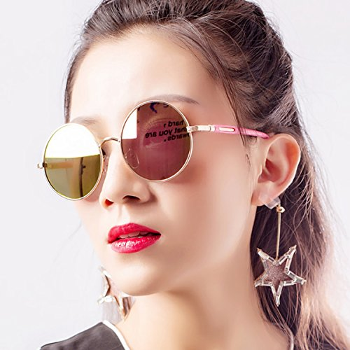 mujer Frame sol Gafas Film Godea para Gold de Gold zPOwqR6q