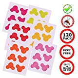 Mosquito Repellent Patches Stickers 120 Counts Natural Pure Essential Oil for Kids Children