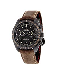 Omega Speedmaster Moonwatch Co-Axial Chronograph Automatic Black Dial Mens Watch 31192445101006
