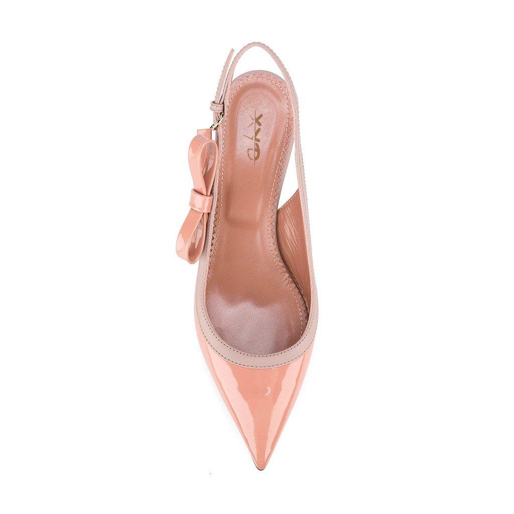 c5ffa21c3907 XYD strana Trendy šaty Slingbacks Špičaté Sandály boty ženy Sandály Nízké  20000 koťata podpatku Pánské boty pro ženy Růžový 77d9ced - catuma.club