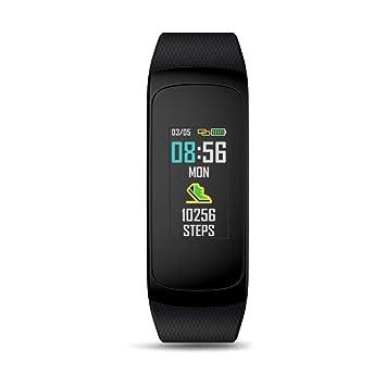 JUNERAIN Reloj Inteligente, Zeblaze Plug C Smart Bluetooth Bracelet Monitor Fitness Tracker