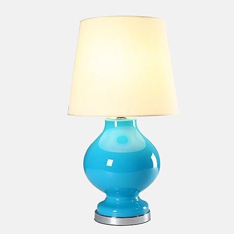 Lámparas de escritorio Lámpara de mesa de vidrio de moda de ...