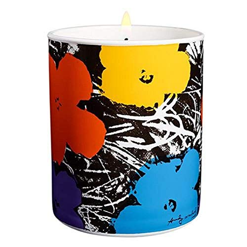 - Ligne Blanche Paris Flower Candle by Andy Warhol (Violet)