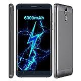 OUKITEL K6000 Pro 3GB+32GB, 6000mAh, 4G 5.5 inch Android 6.0 Smartphone MTK6753 Octa Core 1.3GHZ FM OTG OTA (Black)