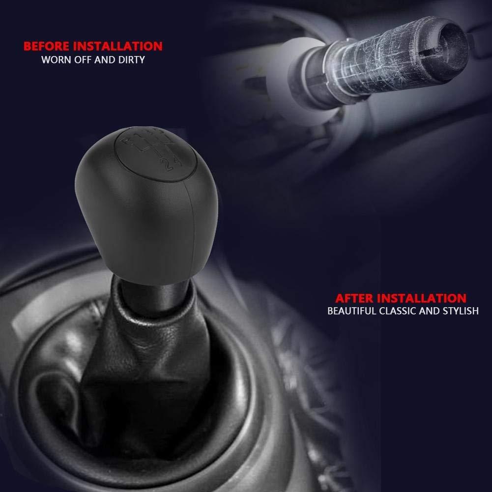 1 PC de voiture 5 vitesses t/ête de levier de levier de vitesses pour Fiat Ducato Citroen Jumper Peugeot Boxer. Pommeau de levier de vitesse