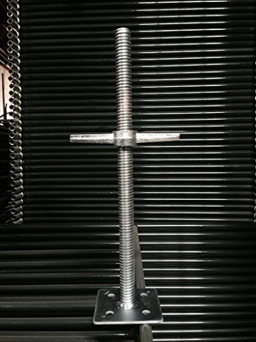 Metaltech M-MBSJP24 Levelling Jack Solid/Plate