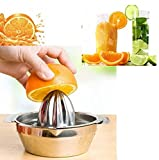 Stainless Steel Fruit Lemon Kitchen Citrus Juicer Hand Press Squeezer Tool by Abcstore99