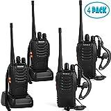 walkie talkie range - Greaval Walkie Talkies 4 Pack Long Range 2 Way Radio Handheld 16-CH Two Way Radios (Pack of 4)