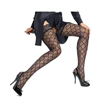 ec79c881b31 Le Bourget Allure Microtulle Patterned Hold-ups x large (5 10