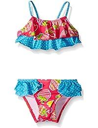 Baby Girls' Strawberry and Heart Bikini