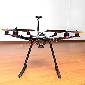 Hobbypower DIY S550 Hexacopter Frame with APM2.8 Flight Controller NEO-7M GPS + HP2212 920KV Brushless Motor & Simonk 30A ESC by Hobbypower