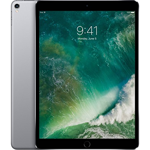 Apple iPad Pro 10.5″ with ( Wi-Fi + Cellular ) – 2017 Model – 256GB, SPACE GRAY (Certified Refurbished)
