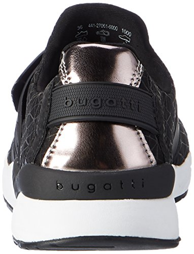 Bugatti 441270616000 - Zapatillas de casa Mujer Schwarz (Schwarz)