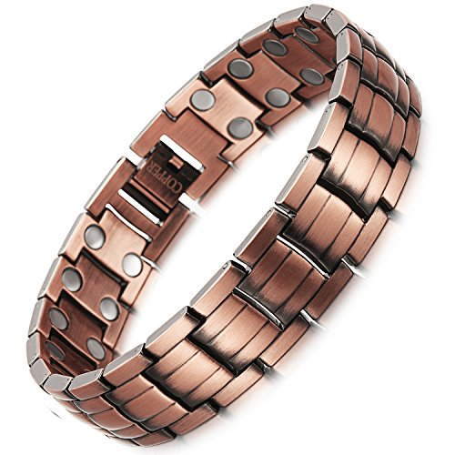 Rainso-Mens-Copper-Magnetic-Therapy-Bracelets-for-Arthritis-Wristband-Adjustable