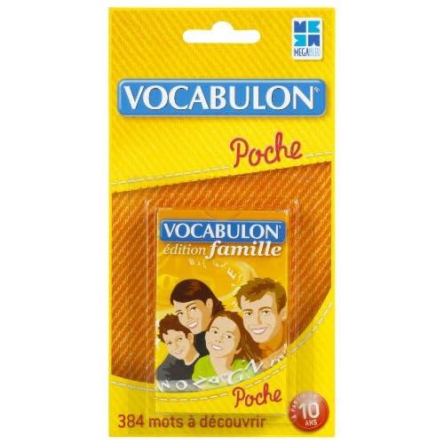Megableu 678055 - Jeu de voyage - Pocket Vocabulon Famille