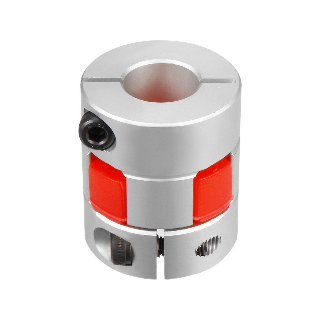14mm to 19mm Shaft Plum Shaped Coupling Coupler 40mm Diameter 55mm Length