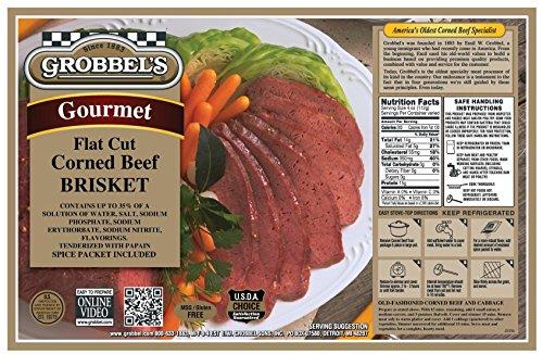 Grobbel's Corned Beef Brisket Flat Cut