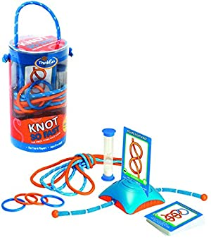 Think Fun Knot So Fast Innovative Knot Tying Game With 40 Challenges 0